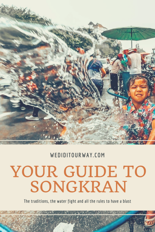 Everything you need to know about Songkran in both Bangkok and Chiang Mai in Thailand. The wettest New year's party in the world. www.wediditourway.com