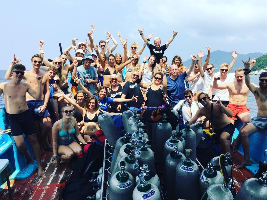 Scuba Diving in KohTao