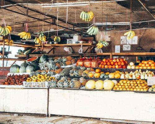 Fruit stand Langkawi, Malaysia
