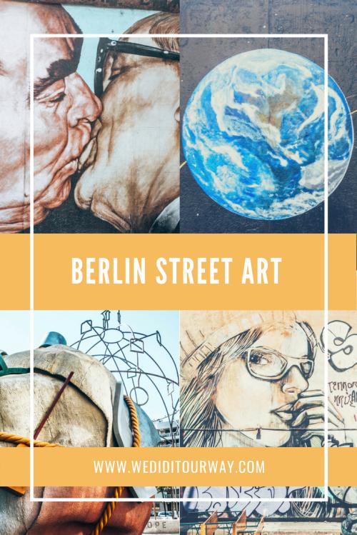 Discover the beautiful street art of Berlin, Germany. www.wediditourway.com