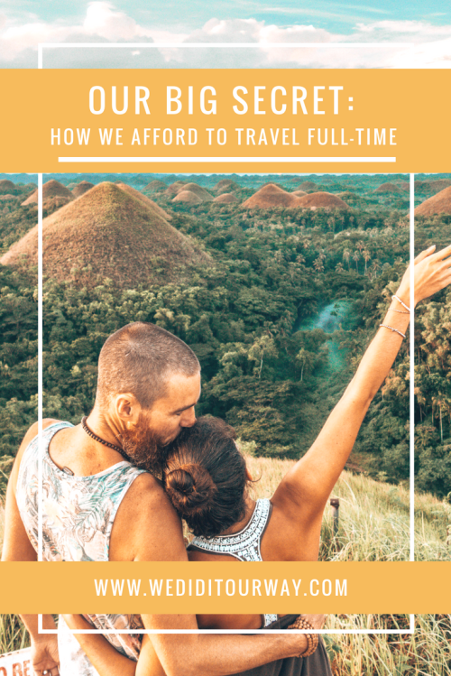 Learn our secrets for traveling full-time. How we saved, how we spend, tips and tricks to keep the travels going. Includes tips for before your trip and during your travels www.wediditourway.com