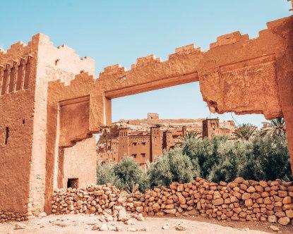 Ait Ben Haddou gate