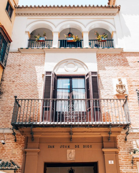 beautiful balcony valencia spain