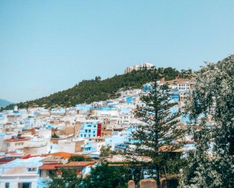 Chefchaouen hillside