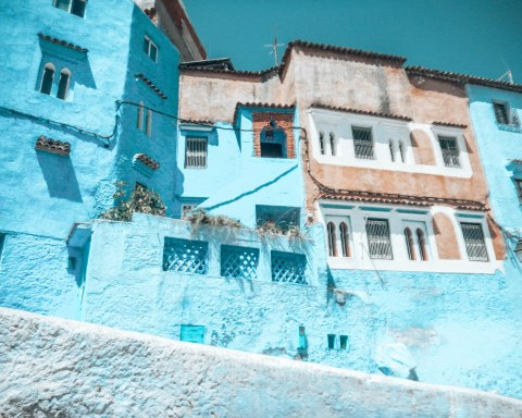 Chefchaouen blue streets