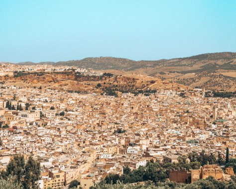 the view of Fes