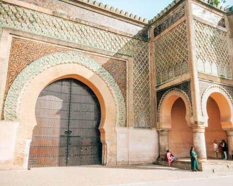 Bab el-Masourand gate, Fes