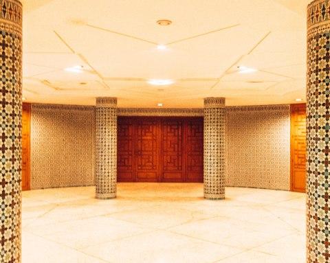 Hassan 2 mosque casablanca morocco ablution entrance