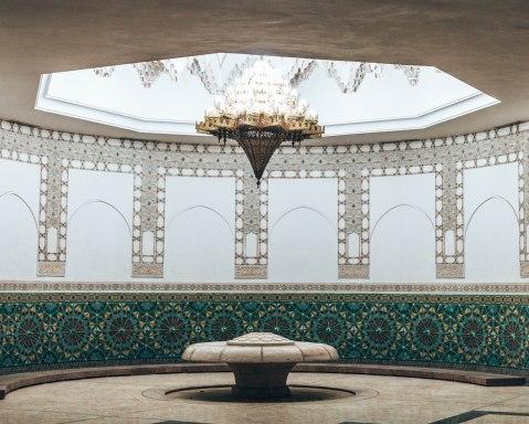 Hassan 2 mosque casablanca morocco ablution fountain