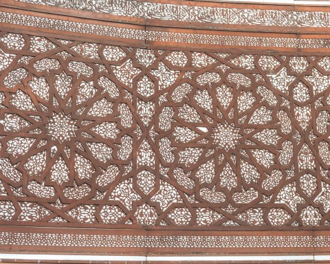 Hassan 2 mosque casablanca morocco carving details patterns