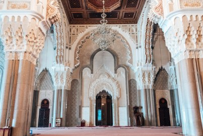 Hassan II Mosque interior 2