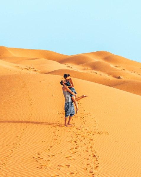 Having a blast in the Sahara desert