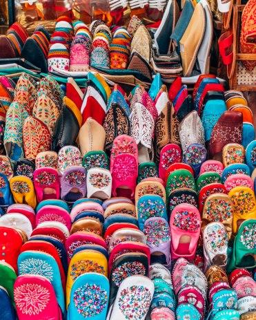 Marrakech souk slippers