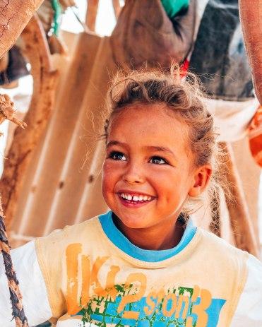 Nomad tribe Sahara desert child 2