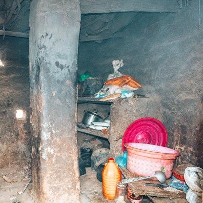 Nomad tribe Sahara desert kitchen
