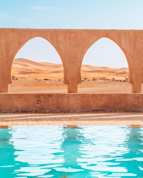 Nomad Palace Sahara desert