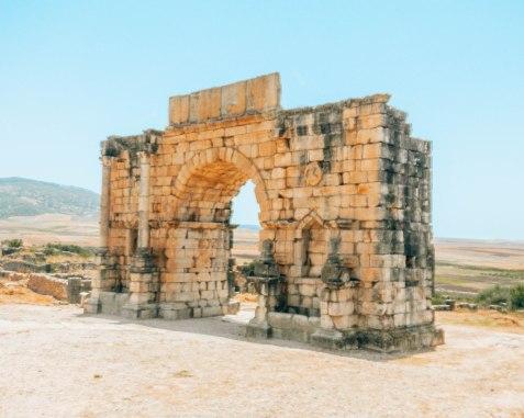 Volubilis Arch of Caracalla
