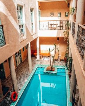 Riad Taroudant pool