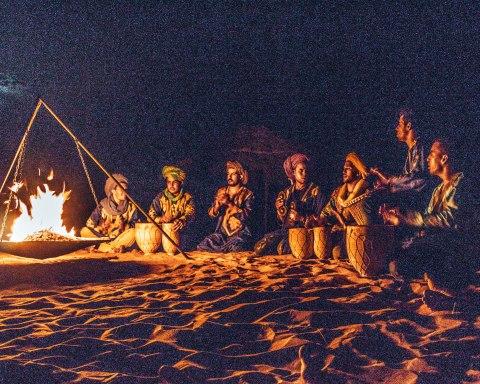 Sahara desert music