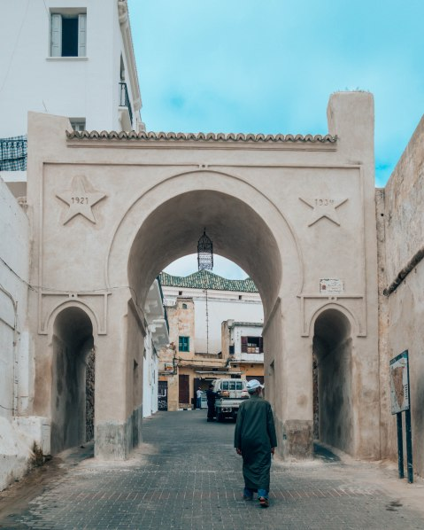 Tanger medina gate
