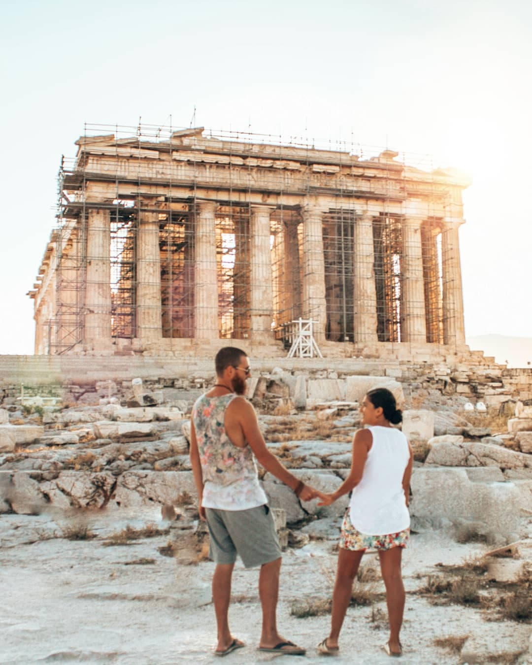 Step back in time at the Acropolis inAthens