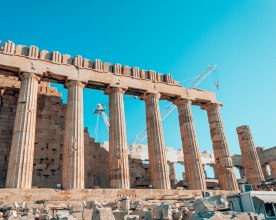 Acropolis Parthenon columns Athens Greece