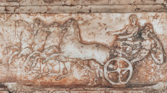 Ancient Agora of Athens carving Greece