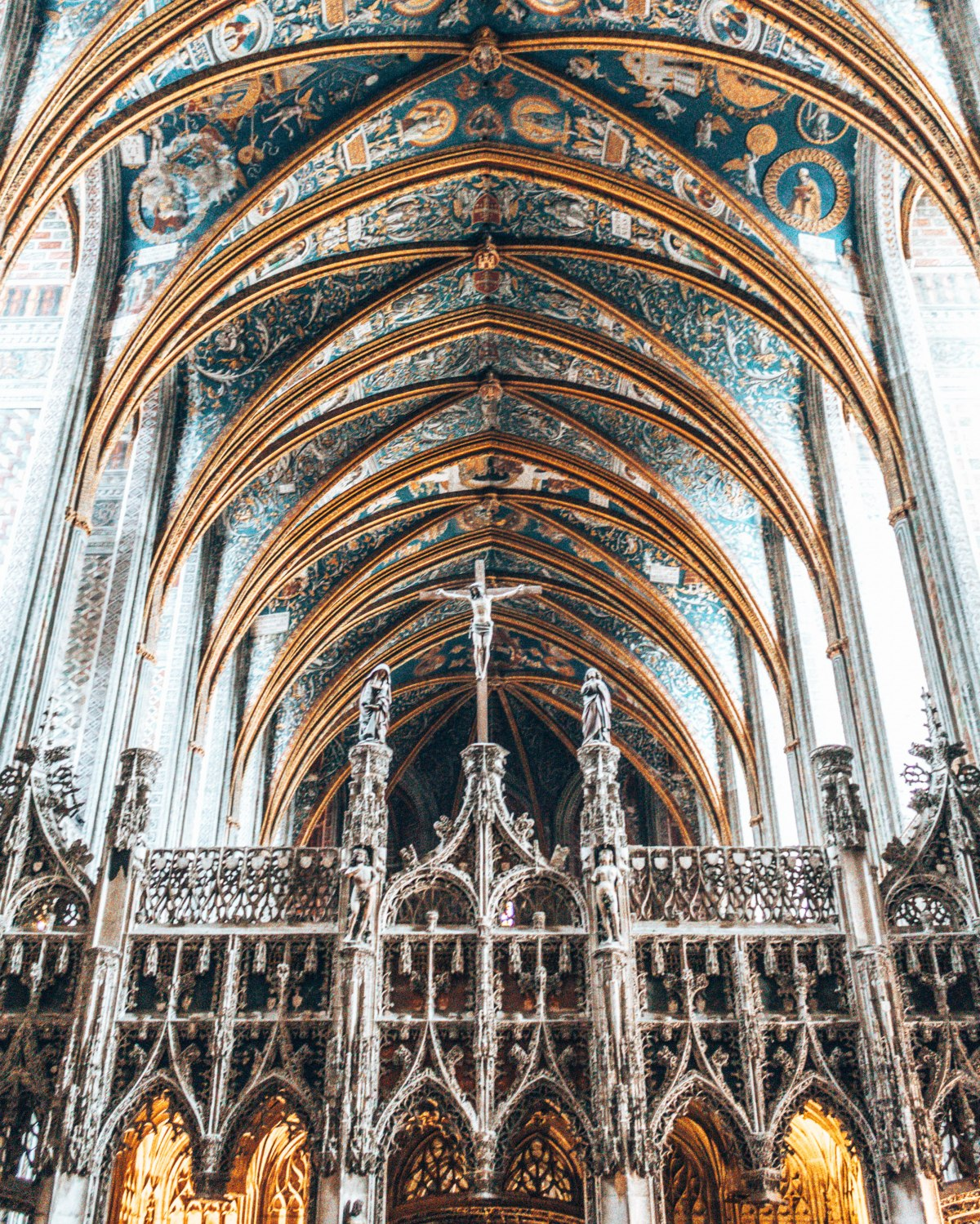The beautiful cathedrals of Southern France