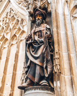 Cathedral Basilica of Saint Cecilia Statue 2 Gers France