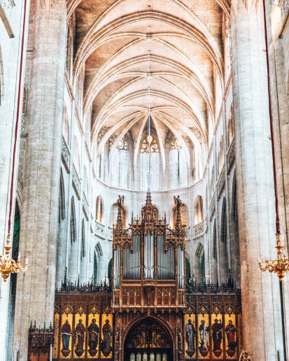 Cathedrale Sainte Marie D'Auch Altar France