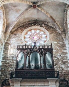 Church organ Gers France