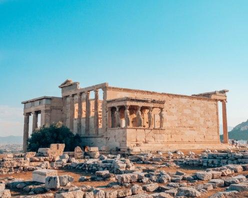 Erechteion Acropolis Athens Greece