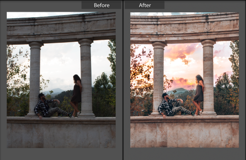 LightroomEditingBeforeAfterDilijanArmenia