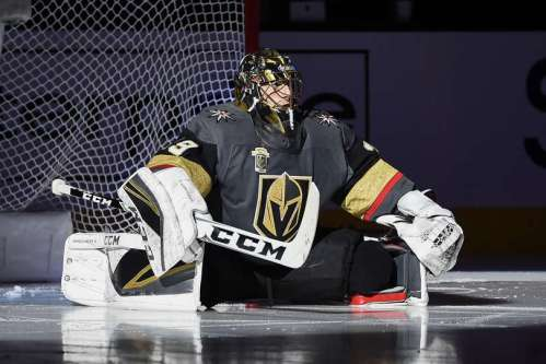 Marc Andre Fleury pre game stretch