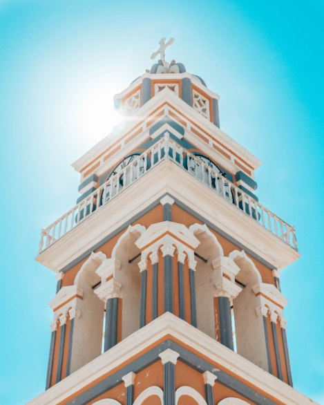St. John the Baptist church Fira SantoriniGreece