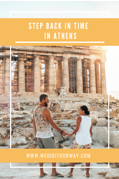 Step back in time at the Acropolis in Athens. Discover all the beauty and history of the Acropolis in Athens, Greece. www.wediditourway.com