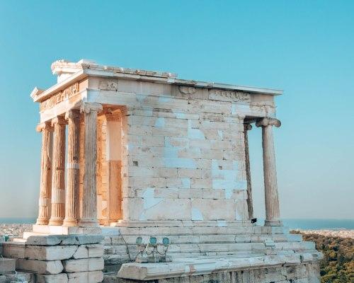 Temple of Athena Nike Acropolis Athens Greece