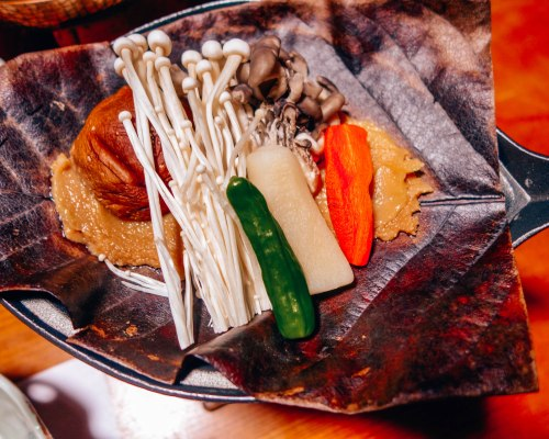 Traditional Japanease food at a Ryokan 3