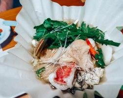 Traditional Japanease food at a Ryokan 4