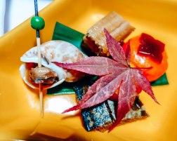 Traditional Japanease food at a Ryokan 6