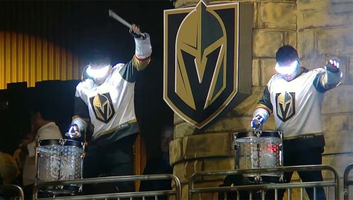 Vegas Golden Knights pre game intro