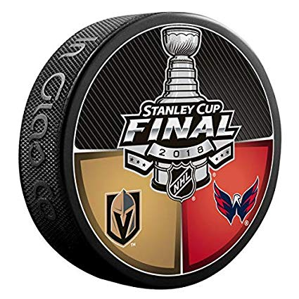 Vegas Golden Knights Stanley cup finals puck