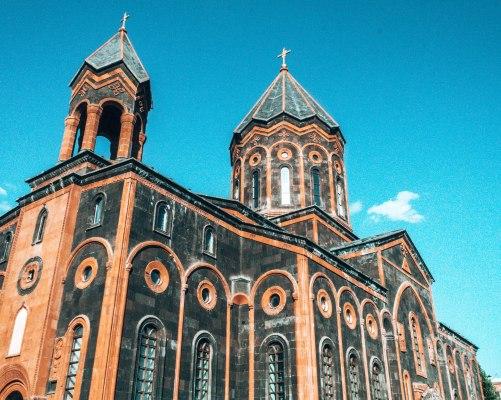 All saviors church Gyumri Armenia