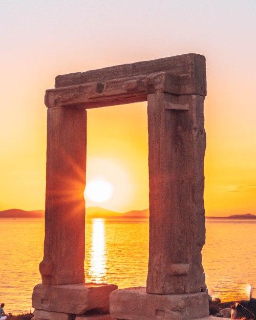 Apollo Temple Naxos Greece