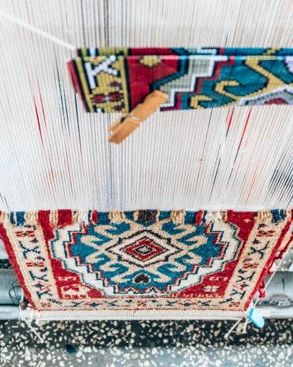 Armenian rug loom pattern Megerian