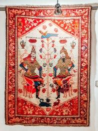 Armenian rug Megerian carpet company museum persian king