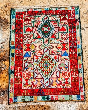 Armenian rug Megerian carpet Yerevan