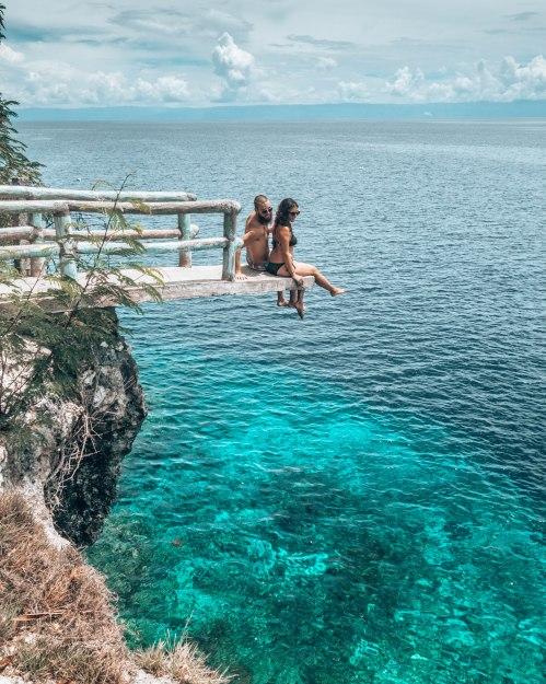 Bohol cliff jump Philippines