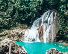 Bohol waterfall Philippines