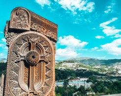 Dilijan khatchkar Armenia